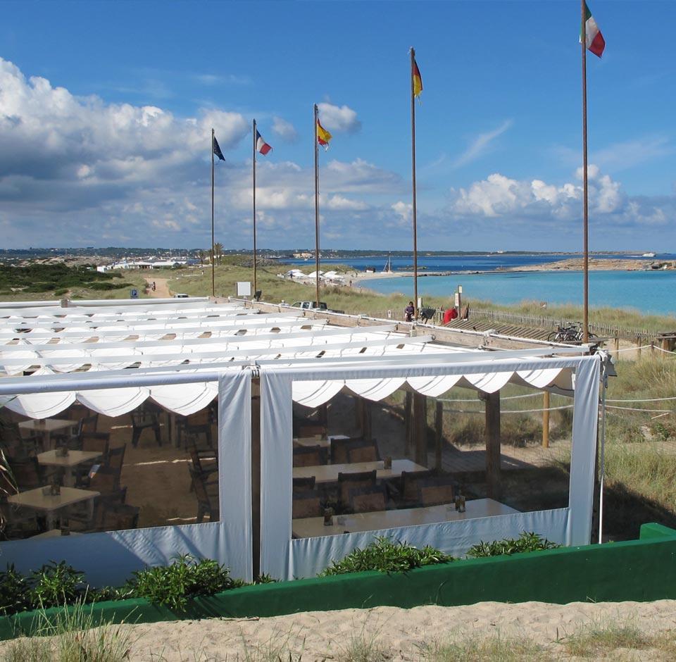 Áreas de Negocio - Restaurantes en Formentera